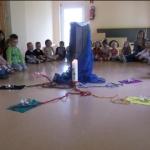 Religiöser Kreis zum Thema Christi Himmelfahrt gestaltet von Herr Vilain