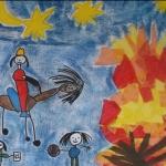 Kita St. Georg 2014 - Kunst zum Thema St. Martin