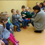 Fridolin zu Gast in der Margarete-Winkler-Kita