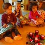 Weihnachtspäckchenaktion 2016