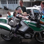 Polizeibesuch 2013 - Margarete-Winkler-Kindertagesstätte von St. Andreas